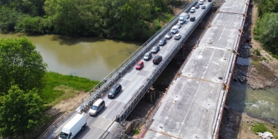 Tak wygląda remont mostu na Skawie w Wadowicach