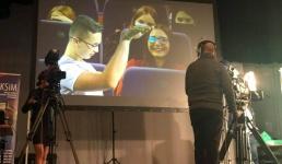 Telewizja Trwam uczy w WCK młodzież dziennikarstwa