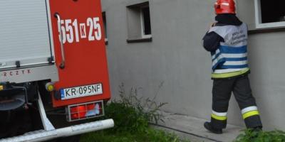 Strażak z Wadowic oddelegowany na Słowację do akcji testowania na obecność koronawirusa